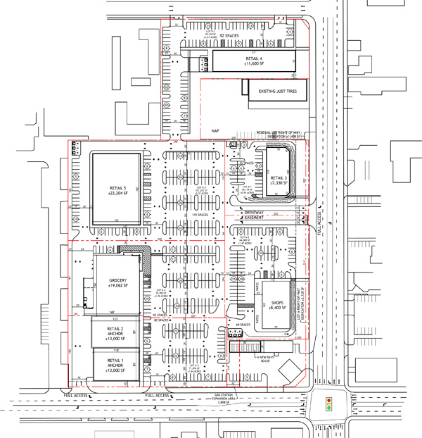Site Plan Example: Master Development Plans