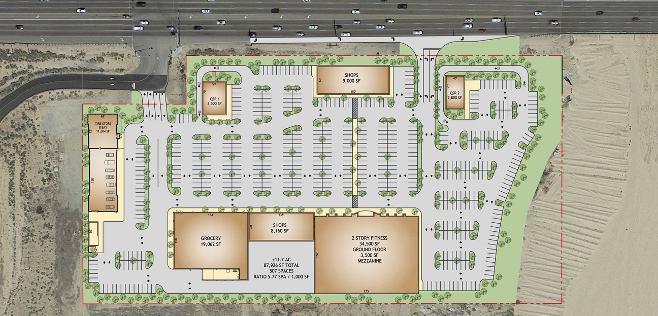 Shopping-Center-Site-Plan